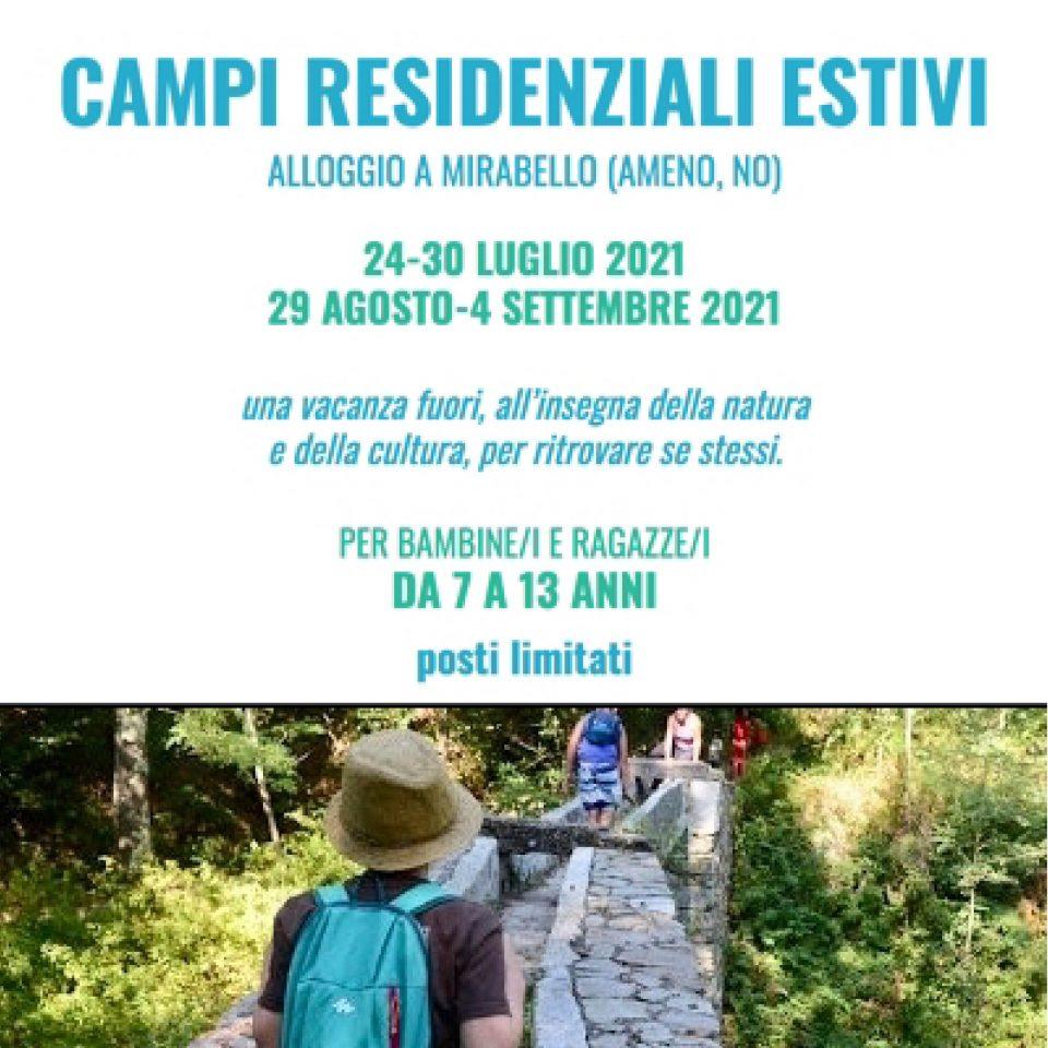 Camp estivo residenziale 2021
